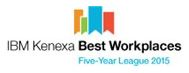 Best Workplaces Five Year League Award Logo 2015